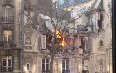 Взрыв в доме под Парижем: пять пострадавших