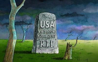 RIP USA: Меми на інавгурацію Трампа в США