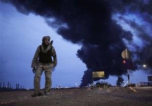 Командование ливийской армии приказало прекратить огонь