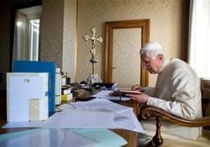 В Ватикане появились монеты с профилем Папы Римского Бенедикта XVI