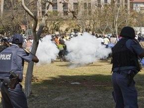 В ЮАР произошли столкновения между военнослужащими и полицией