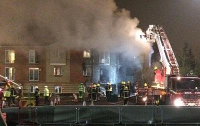 В Лондоне взорвался жилой дом, есть пострадавшие