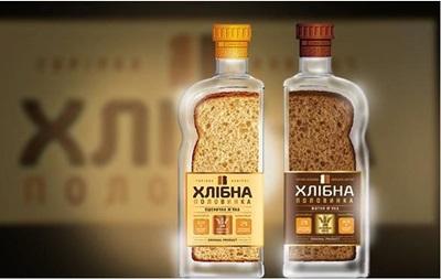 Новая водка  Хлібна Половинка  провела быстрый захват рынка