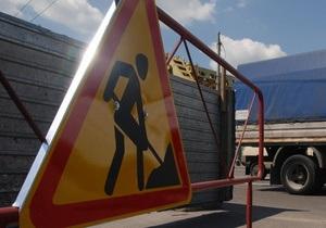 Власти Киева ограничили движение в обе стороны по Надднепрянскому шоссе до 3 мая