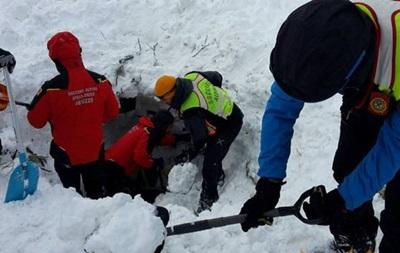 Сходження лавини на готель в Італії: знайдені всі жертви