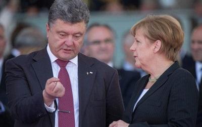Порошенко летить до Меркель