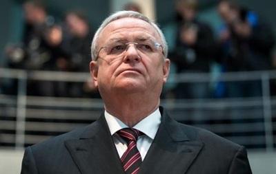 Экс-главу Volkswagen заподозрили в мошенничестве