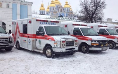 Канада передала Україні 10 карет швидкої допомоги