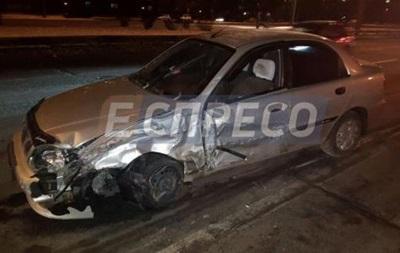 В Киеве пьяный водитель устроил тройное ДТП
