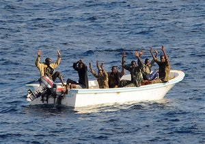 Корабль ВМС Франции освободил от пиратов судно с украинцами на борту