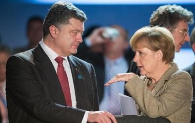 З явилися подробиці візиту Порошенка до Берліна