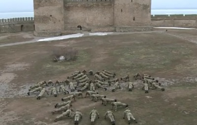 Прикордонники віджалися у фортеці задля флешмобу
