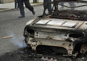 В Берлине за ночь сожгли еще 15 автомобилей