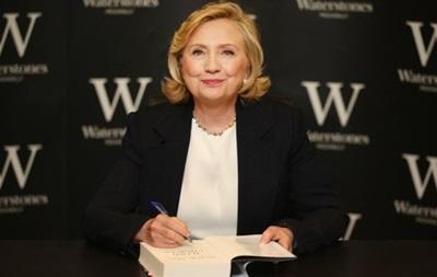 Гілларі Клінтон напише книжку про вибори президента