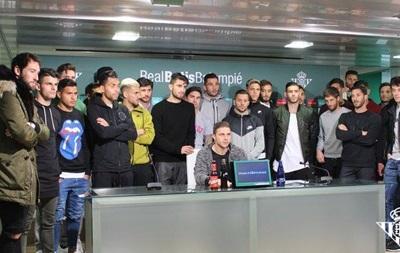 Ми всі - Зозуля: Гравці Бетісу встали на захист українця