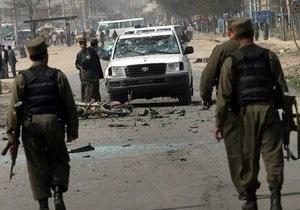 На востоке Афганистана прогремел взрыв: пять человек погибли, более 20 ранены