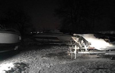 У Києві вночі згоріли три яхти