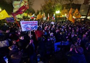 В России состоялась самая многочисленная за последние годы акция оппозиции: более 400 задержанных в Москве и Санкт-Петербурге