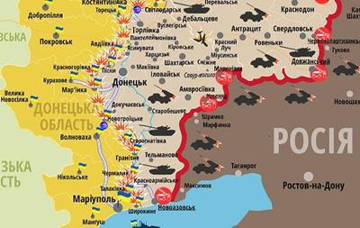 Нескінченна війна. Карта АТО за 03.02.2017