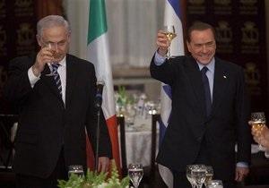 Берлускони выступил за принятие Израиля в Евросоюз