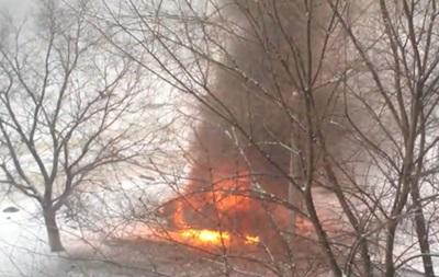У Луганську вибухнув автомобіль