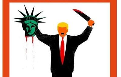 Обкладинка Spiegel із Трампом і головою Статуї Свободи викликала скандал