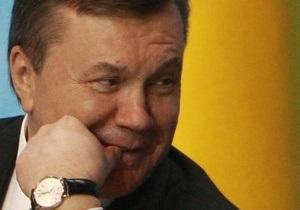 Янукович пообещал обеспечить свободу слова в Украине
