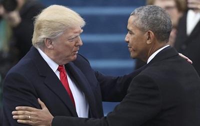 Трамп упевнений, що подобається Обамі