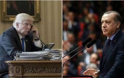 Відбулася телефонна розмова Трампа з Ердоганом