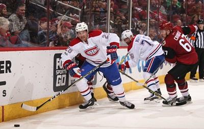 НХЛ: Монреаль переміг в овертаймі, Сан-Хосе поступився Бостону