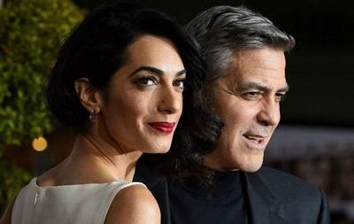 Джордж і Амаль Клуні  очікують двійню