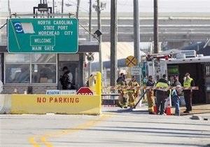 В США из-за угрозы взрыва закрыт и эвакуирован один из важнейших портов страны