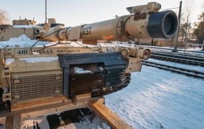 До Литви прибули танки США