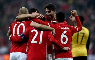 Баварія відправила п ять голів у ворота Арсеналу