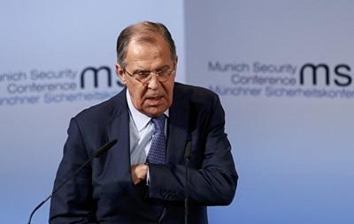 Лавров: РФ не зніме санкцій із Євросоюзу до виконання Мінська