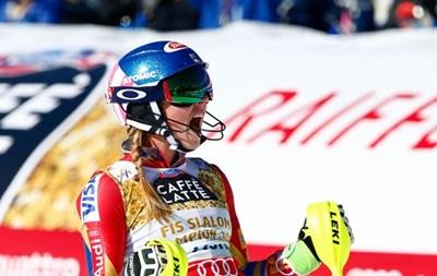 Гірські лижі. Шиффрін перемогла у слаломі на чемпіонаті світу