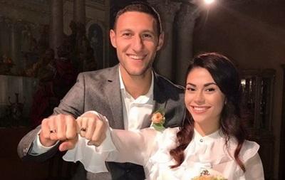 Захисник Шахтаря Іван Ордець одружився між матчами з Сельтою
