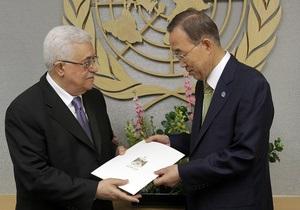 В пятницу экспертный комитет СБ ООН рассмотрит заявку Палестины