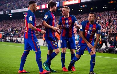 Барселона вперше в історії вийшла з одним іспанцем у складі