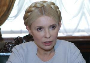 Тимошенко поздравила украинских медиков с праздником