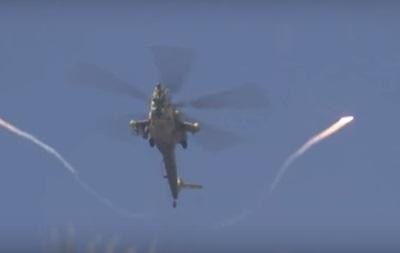У Мережі показали атаку вертольота Росії в Мосулі