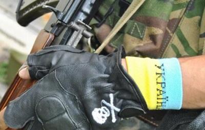 В Киеве нацгвардеец выстрелил в себя