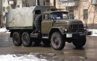 На Донеччині військова вантажівка насмерть збила жінку