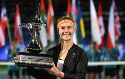 WTA поздравила Свитолину с попаданием в ТОП-10 рейтинга