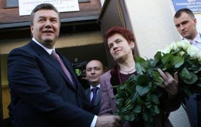 Янукович розлучився з дружиною після 45 років шлюбу