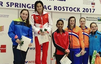 Українка виграла медаль Гран-прі зі стрибків у воду