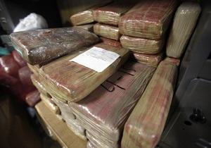 Более полутонны кокаина изъято на границе Мексики и США