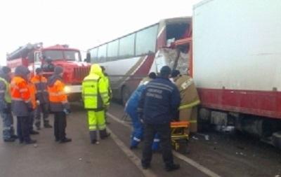 У Росії потрапив в аварію автобус з українцями