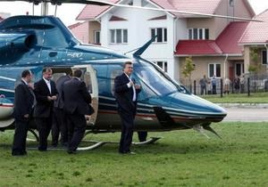 На пути вертолета Януковича проверят жильцов с психическими отклонениями