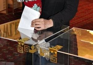 Явка на выборах в Туркменистане превысила 96%
